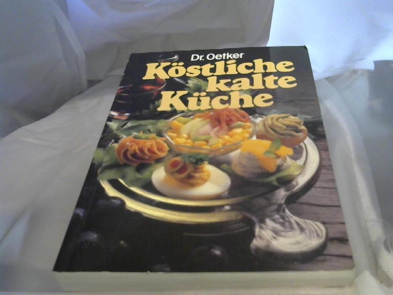 Dr. Oetker: Köstliche Kalte Küche.
