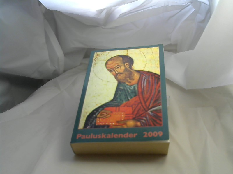 Pauluskalender 2009 Buchform 1., Aufl.