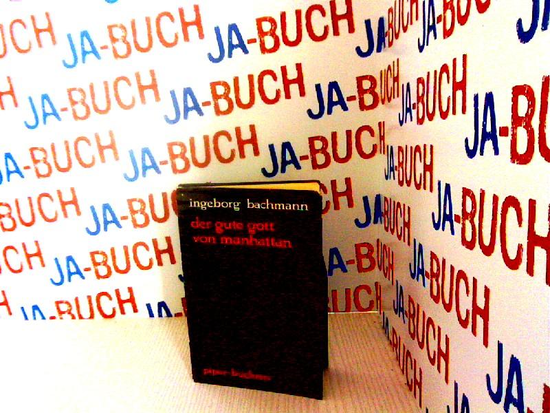 Der gute Gott von Manhattan: Hörspiel - Bachmann, Ingeborg