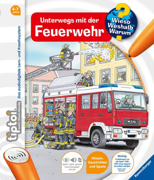 tiptoi® Unterwegs mit der Feuerwehr (tiptoi® Wieso? Weshalb? Warum?, Band 6) (tiptoi® Wieso? Weshalb? Warum?, 6)  19 - Flucht, Daniela und Niklas Böwer