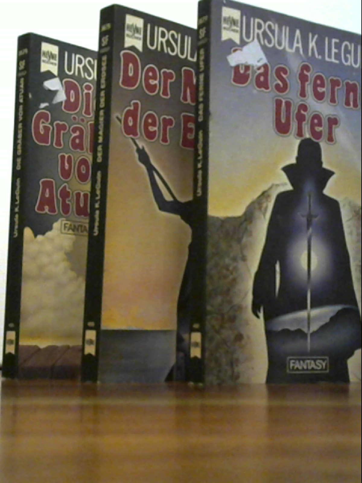 Die ursprüngliche Erdsee Trilogie (Der Magier der Erdsee - Die Gräber von Atuan - Das ferne Ufer)