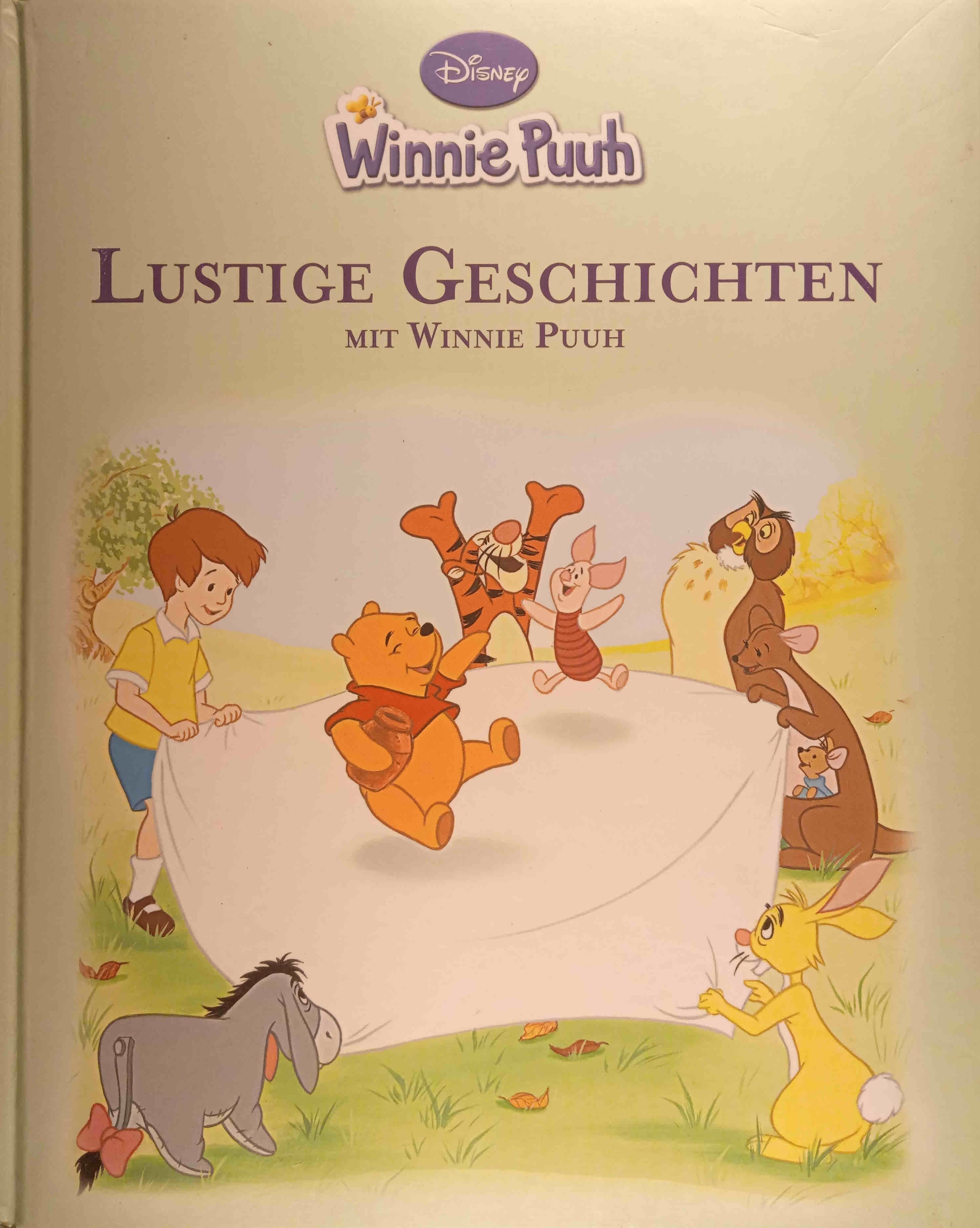 Lustige Geschichten mit Winnie Puuh : [basierend auf den