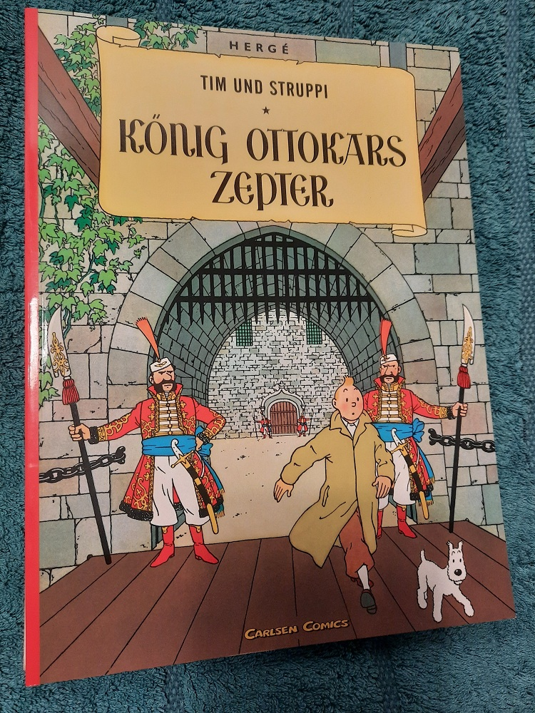 Tim und Struppi. König Ottokars Zepter. - Hergé