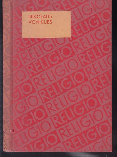 Religio. Religiöse Gestalten nach Strömungen. Hrsg. v. Ludwog von Bertalansy.