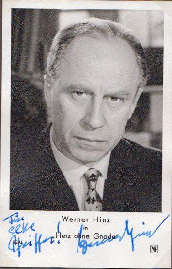 Werner Hinz in Herz ohne Gnade.