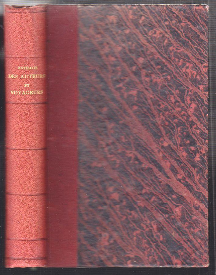 NOUVION, Victor de. Extraits des Auteurs et Voyageurs qui ont écrit sur La Guyane, suivis du Catalogue Bibliographique de La Guyane.