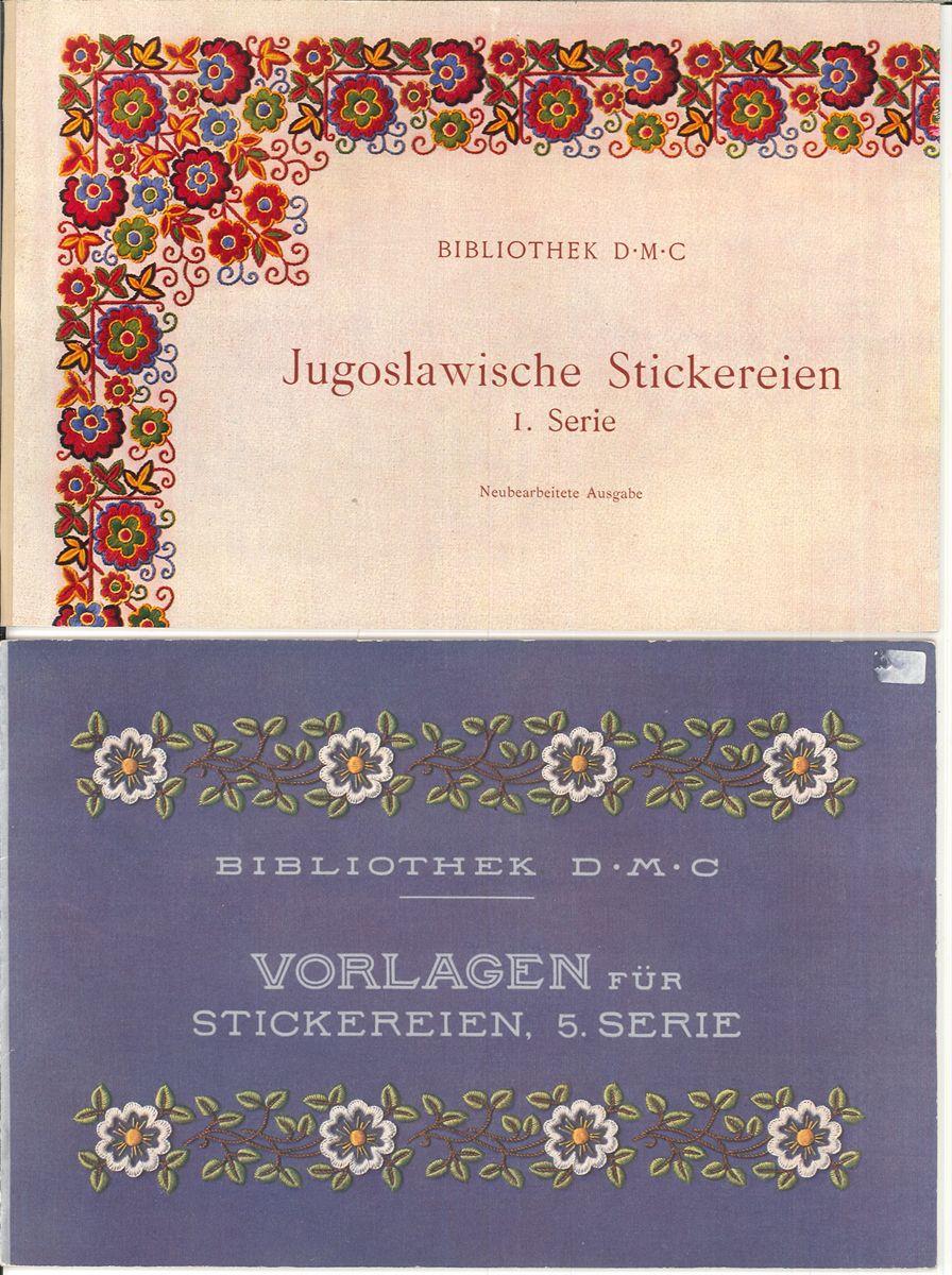 Tschechoslowakische Stickereien.