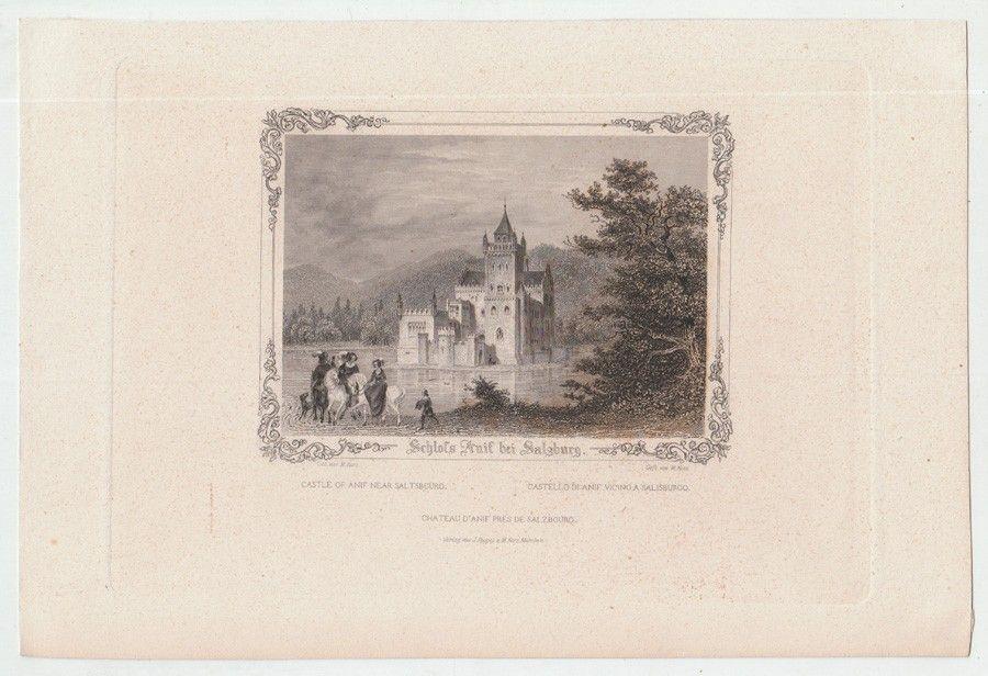 Schloss Anif bei Salzburg.