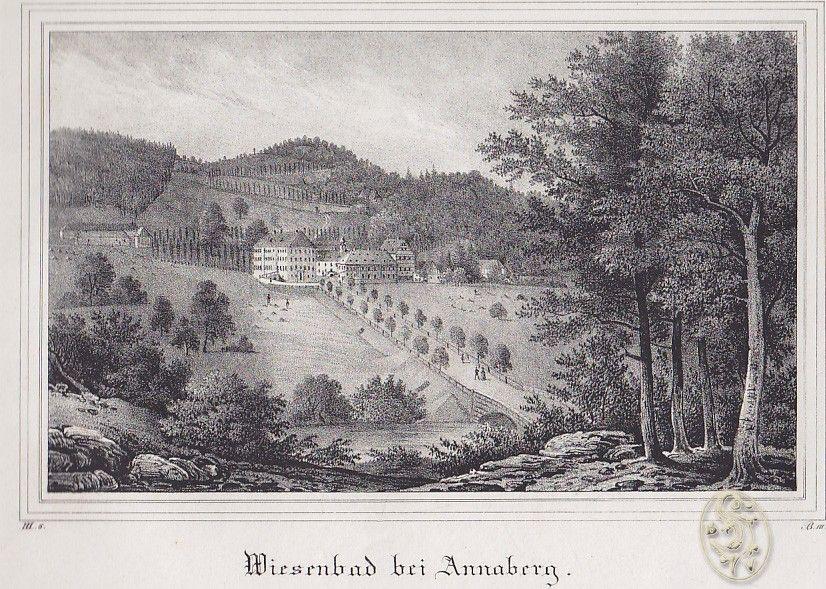 Wiesenbad bei Annaberg.