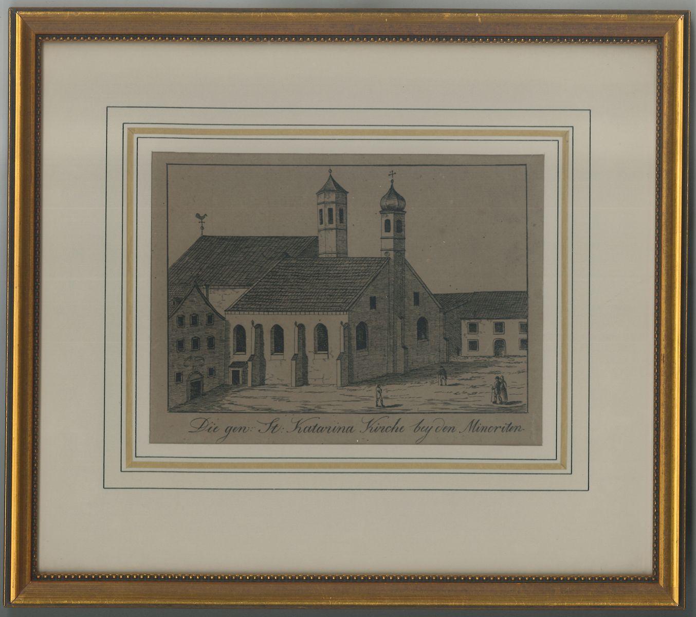 Die gen. St. Katarina Kirche bey den Minoriten.