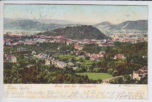 Graz von der Hilmwarte.