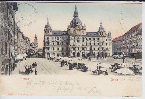 Graz. Rathaus.