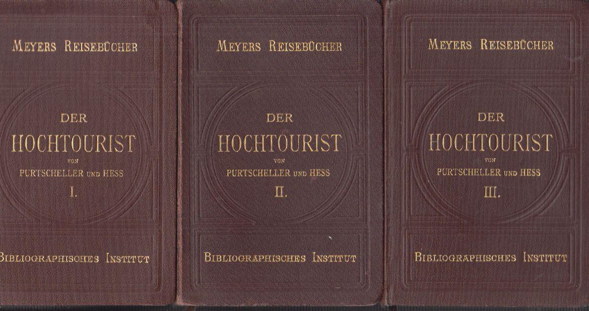Der Hochtourist in den Ostalpen.