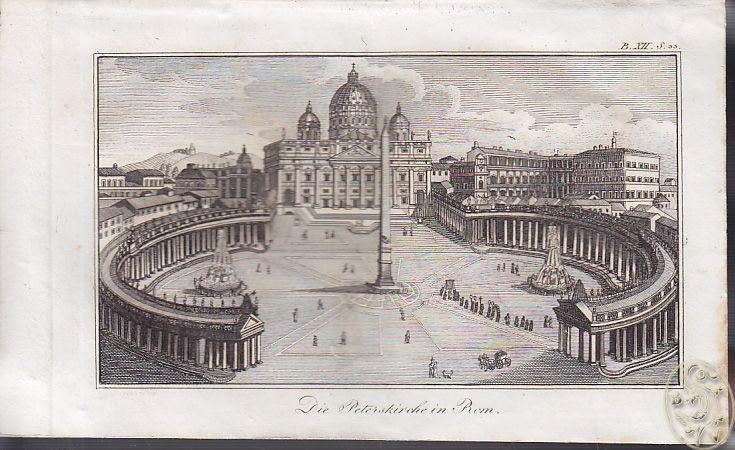 Die Peterskirche in Rom.