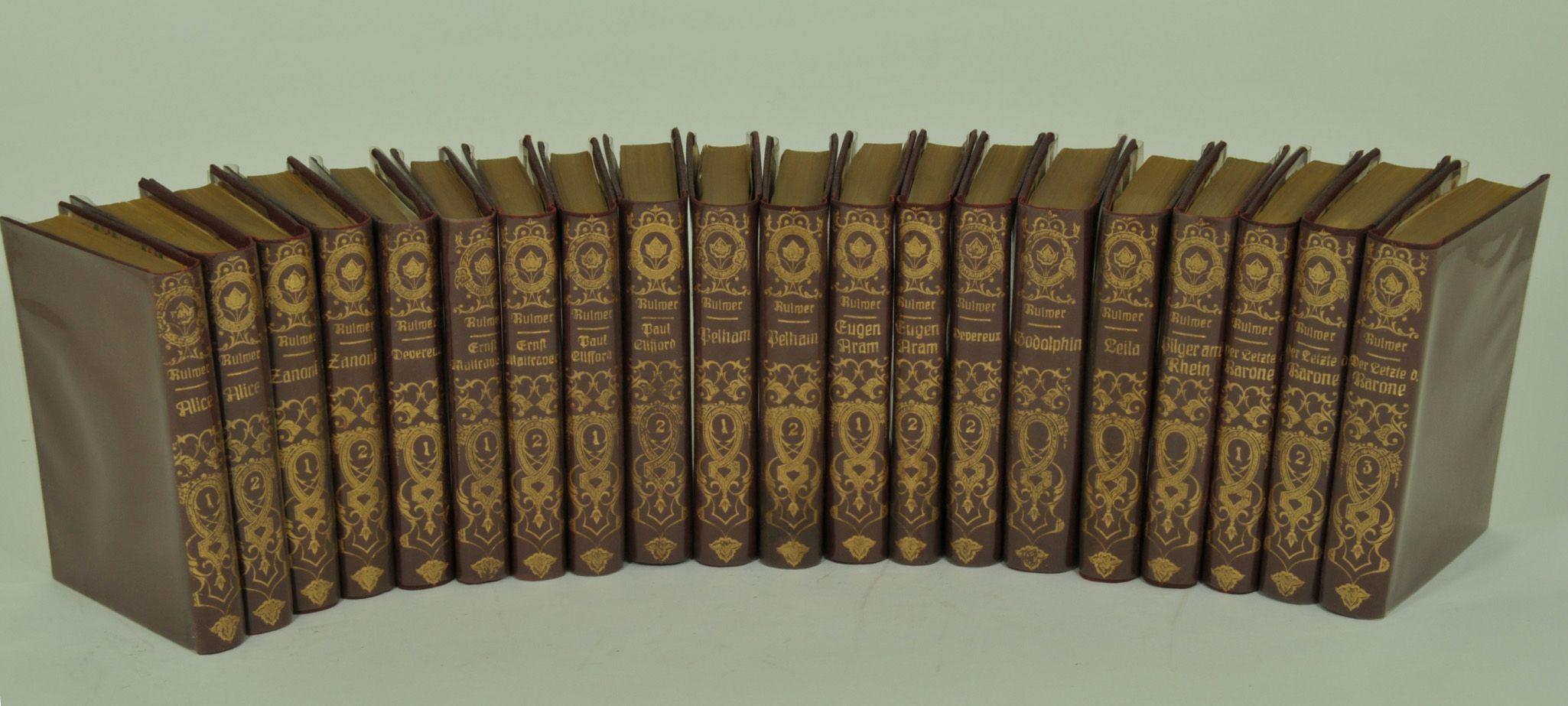 Sämmtliche Romane. Uebersetzt  v. Franz Kottenkamp, W. Schöttlen, Th. Roth, E. Susemihl.