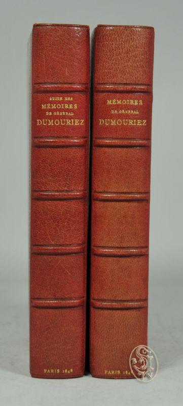 Mémoires du Général Dumouriez. - Suite des Mémoires du Général Dumourez, mémoires de Louvet et mémoires pour servir a l`histoire de la convencion nationale, par Danou.