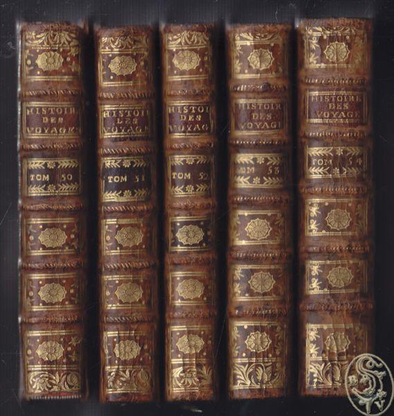 Histoire generale des Voïages, ou nouvelle collection de toutes les relations de voïages par mer et par terre, Qui ont été publiées jusqu`à présent dans les différentes Langues des toutes les Nations connues.