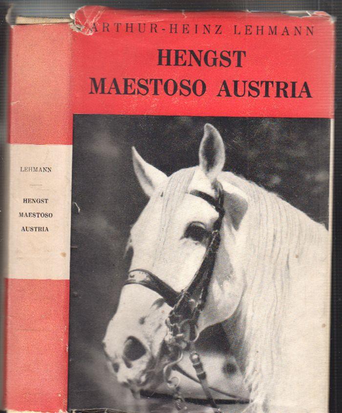 Hengst Maestoso Austria. Liebesgeschichte zweier Menschen und eines edlen Pferdes.