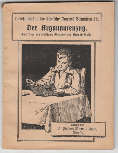 LESESCHATZ für die deutsche Jugend.