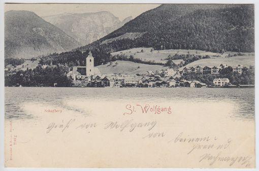 St. Wolfgang. Schafberg.