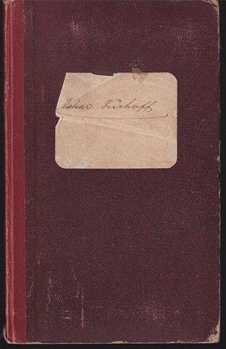 Seefahrtsbuch. Deutsches Reich. Ausgefertigt in Bremerhaven am 23. Mai 1903.