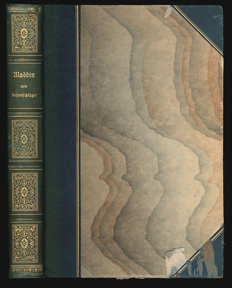 Aladdin oder die Wunderlampe. Dramatisches Märchen in fünf Akten. Aus dem Dänischen übersetzt von Erwin Magnus mit Vorwort und Nachschrift von Georg Brandes.