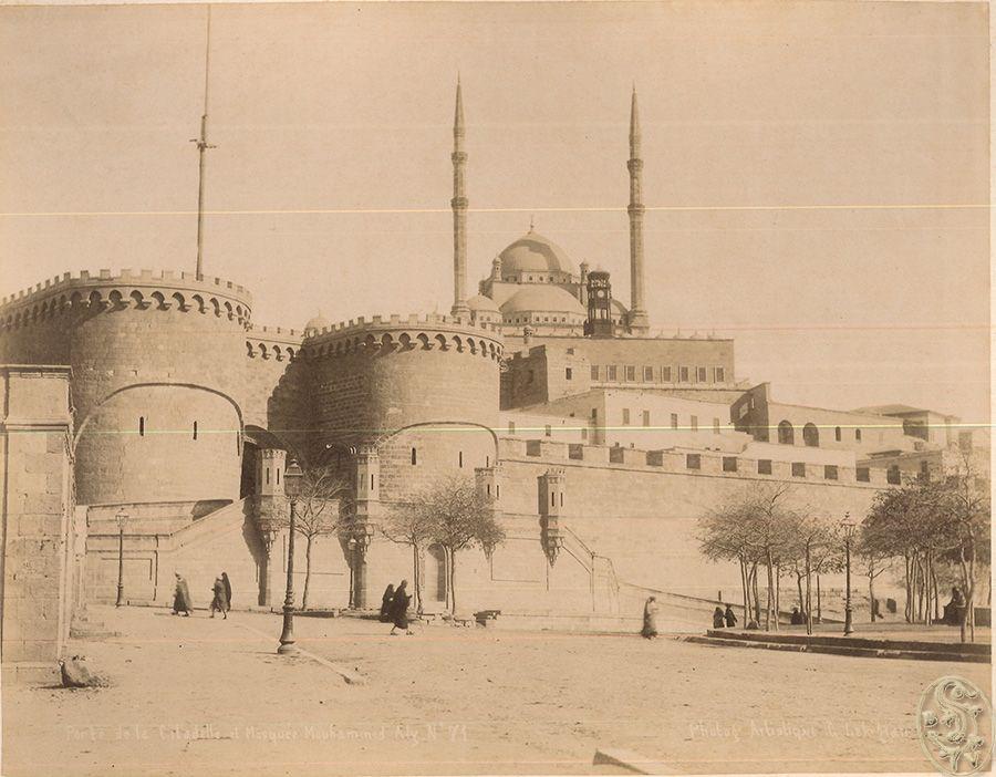 Porte de la Citadelle et Mosquée Mouhammed Aly. No. 71. [Kairo].