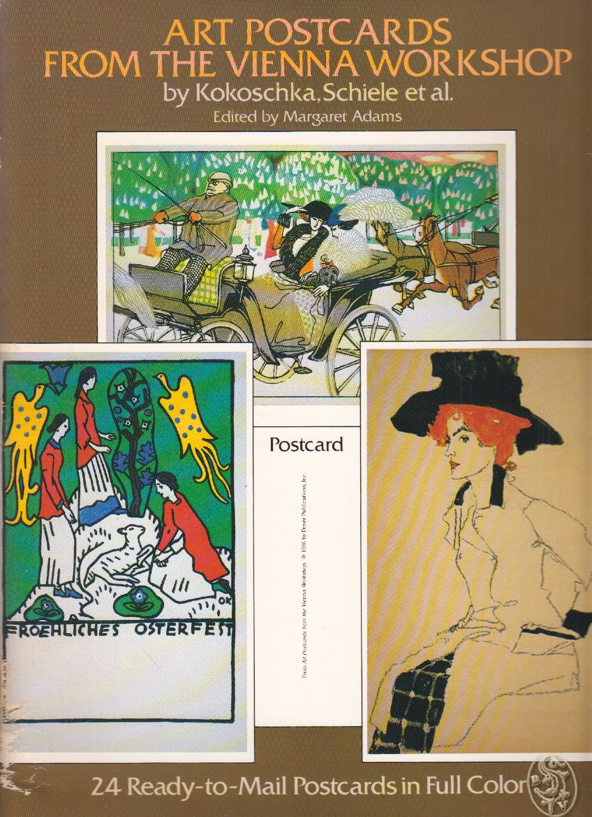 Art Postcards from the Viennese Workshop by Kokoschka, Schiele et al. 24 Ready-to-mail Postcards in Full Color from the Collection of Leonard A. Lauder.
