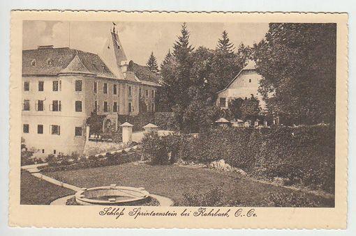 Schloß Sprintzenstein bei Rohrbach, O.-Oe.