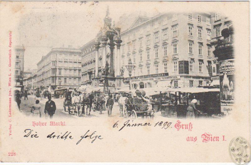 Hoher Markt. Gruß aus Wien I.