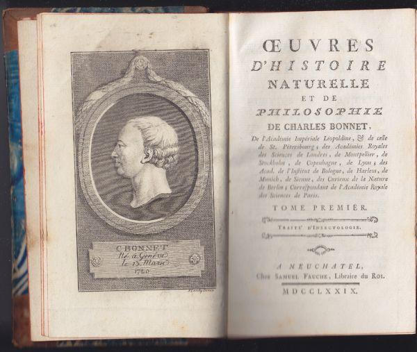 Oeuvres d`histoire naturelle et de philosophie.