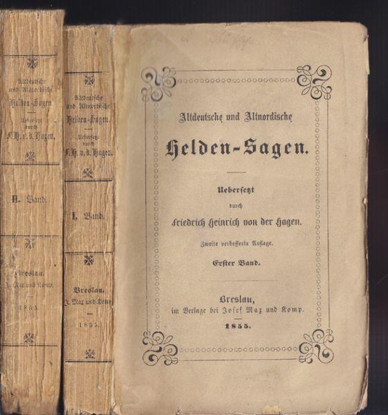 HAGEN, Heinrich v. d. (Übers.). Wilkina- und Niflunga-Saga oder Dietrich von Bern und die Nibelungen.