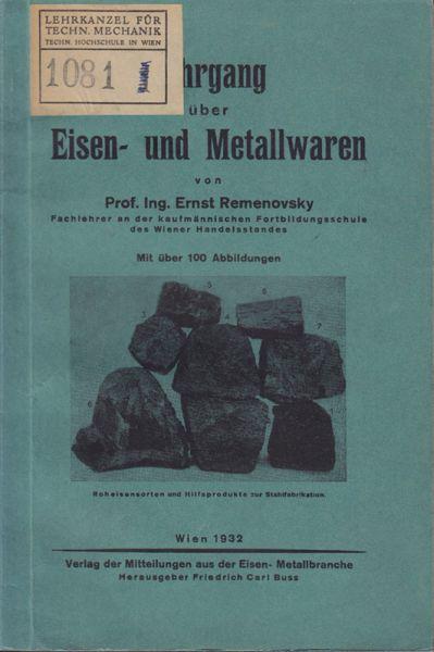 Lehrgang über Eisen- und Metallwaren.