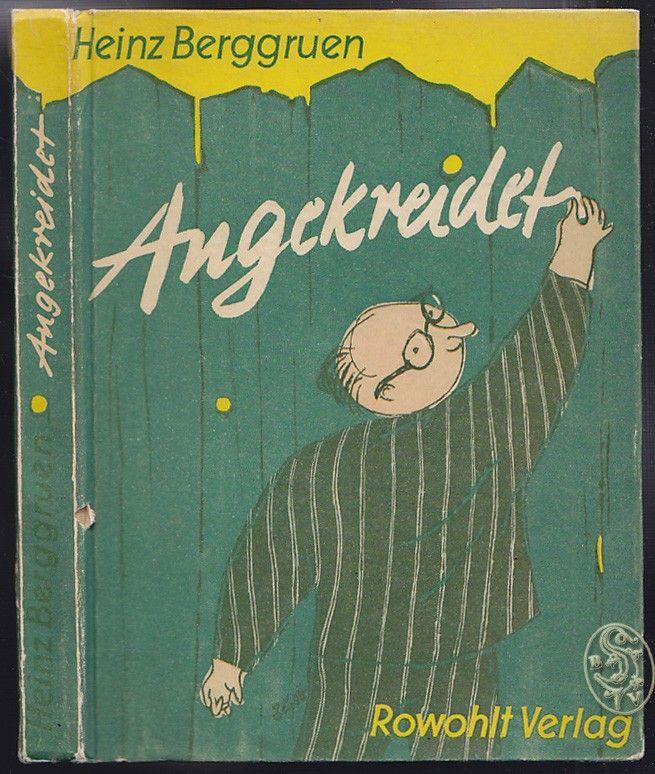 Angekreidet. Ein Zeitbuch mit Zeichnungen von Jo R. von Klackreuth.