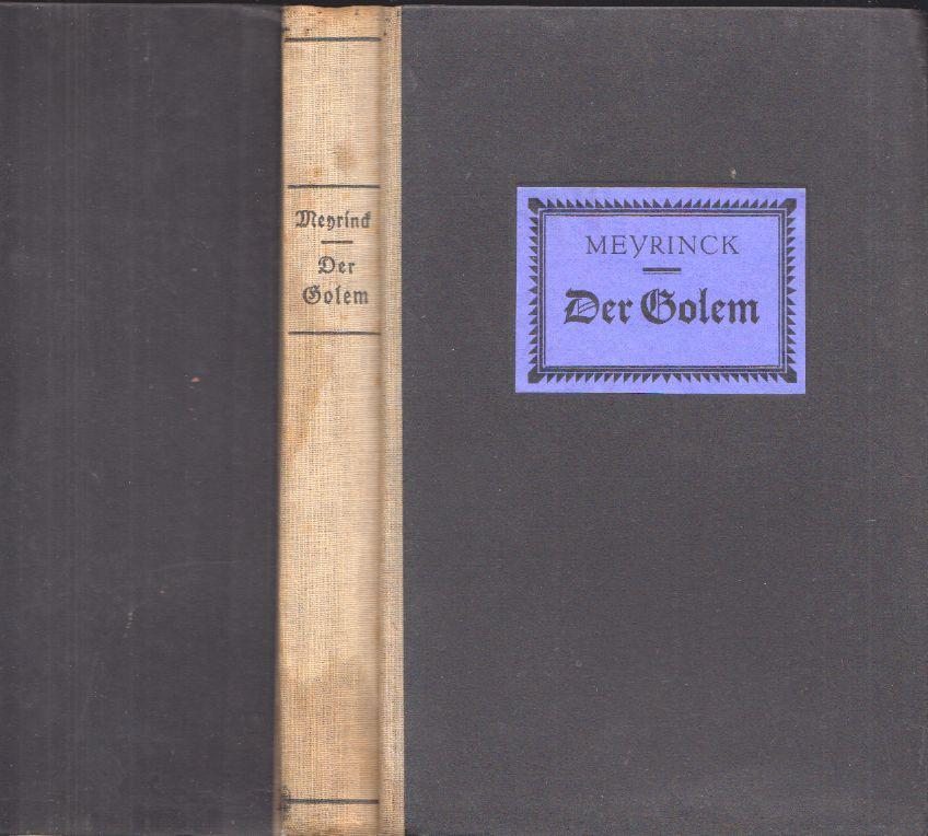 Der Golem. Ein Roman.