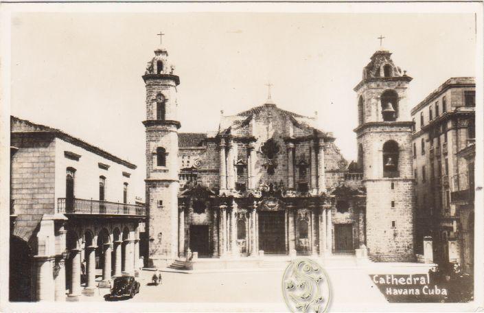 Cathedral Havana Cuba.