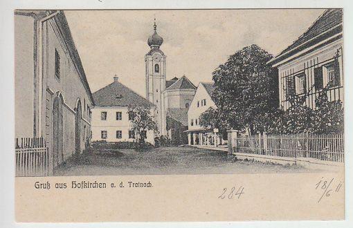 Gruß aus Hofkirchen a. d. Tratnach.