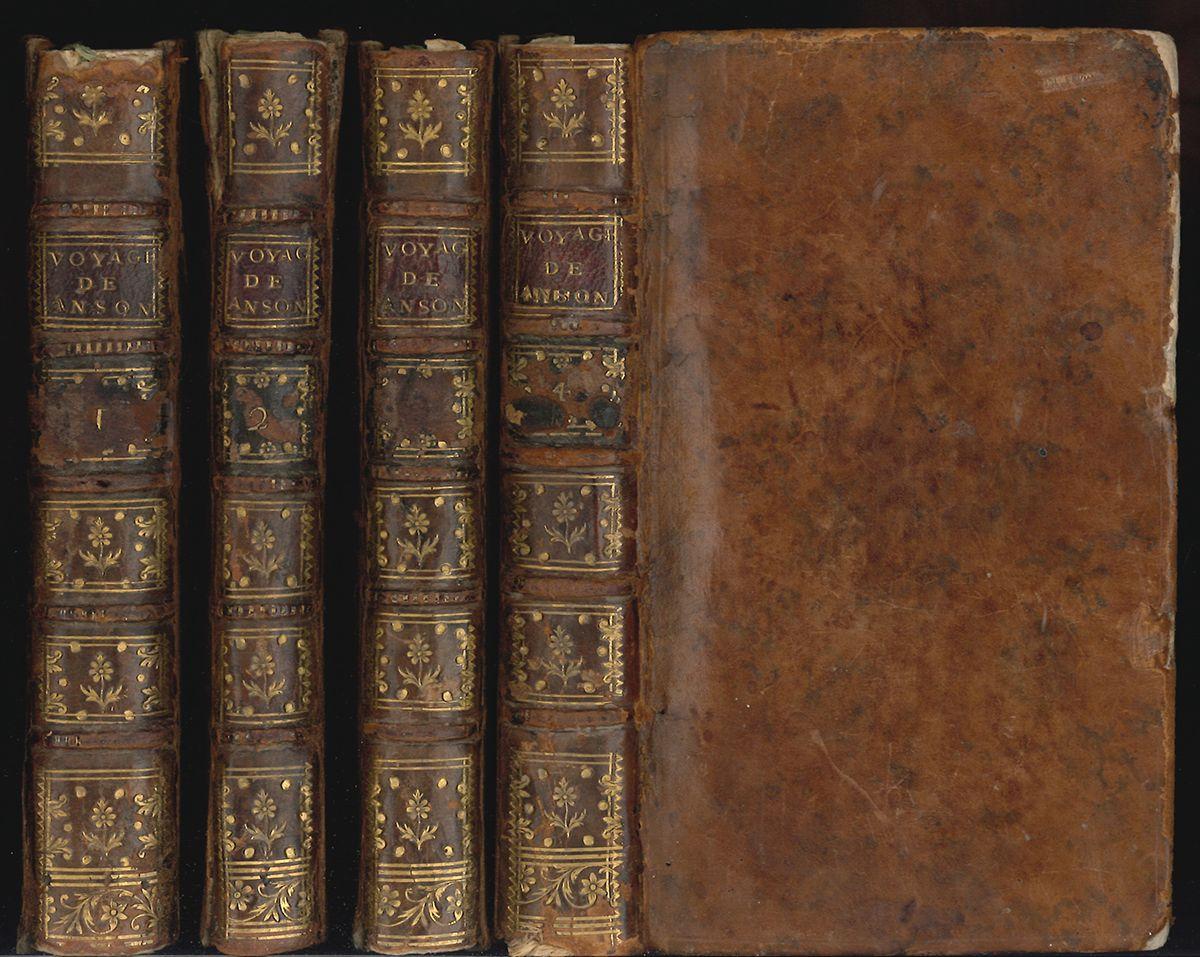 Voyage au tour du monde, fait dans les anneés 1740, 41, 42, 43, & 44 [...] commandant en chef l`Escadre de Sa Majesté Britannique ... traduit de l`anglois.
