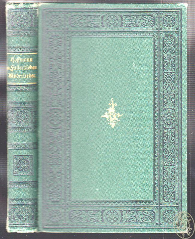 Kinderlieder. Erste vollständige Ausgabe besorgt durch Lionel von Donop.