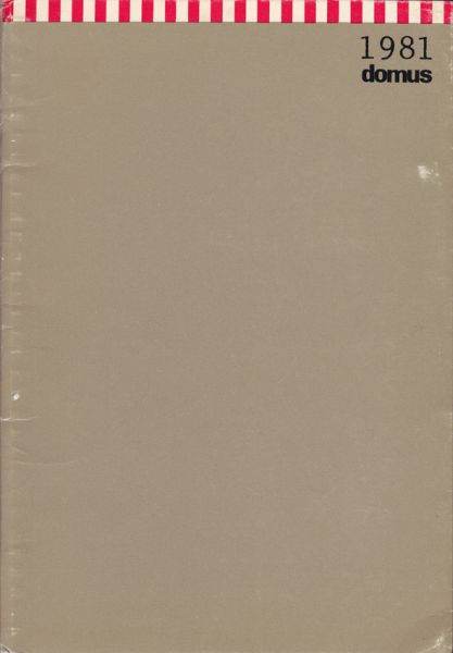 domus 1981. [Bildkalender mit Adressbuch]