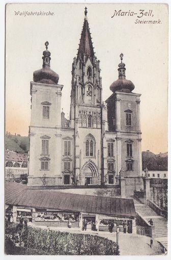 Maria-Zell, Steiermark. Wallfahrtskirche.
