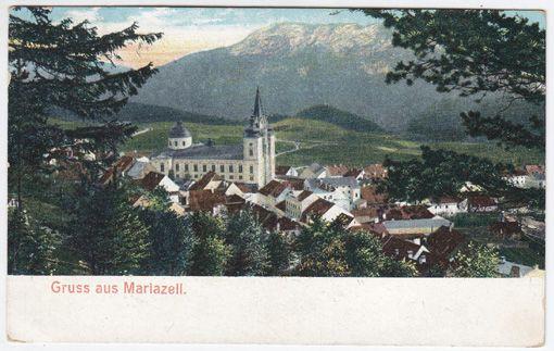 Gruss aus Mariazell.