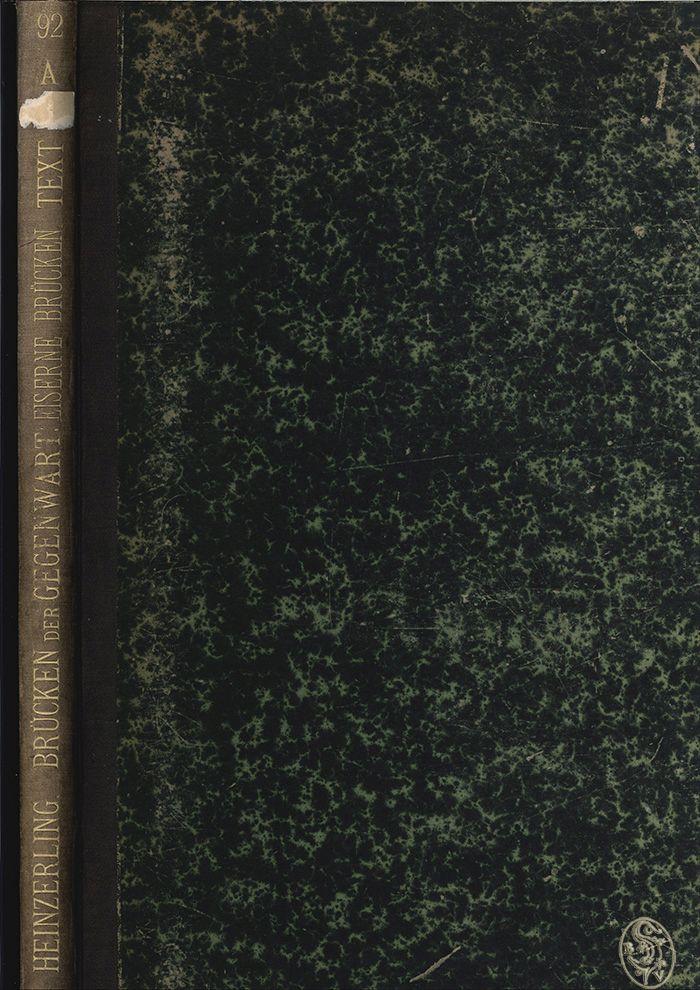 Die Brücken der Gegenwart. Systematisch geordnete Sammlung der geläufigsten neueren Brückenconstructionen, gezeichnet von Studirenden des Brückenbaus an der Kgl. rheinisch-westphälischen, polytechnischen Schule zu Aachen. Zum Gebrauche bei Vorlesungen und Privatstudien über Brückenbau, sowie beim Berechnen, Entwerfen und Veranschlagen von Brücken.