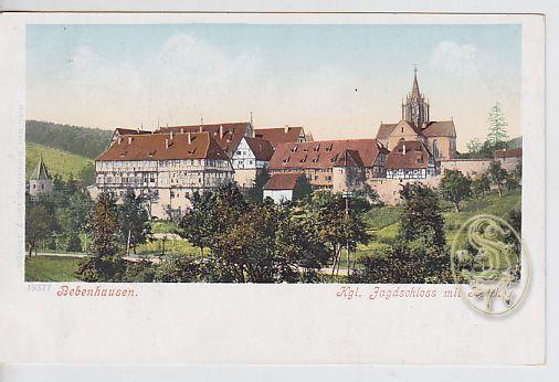 Bebenhausen. Kgl. Jagdschloss mit Kirche.