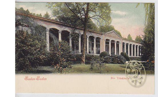 Baden-Baden. Die Trinkhalle.