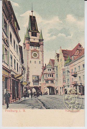 Freiburg. i. B. Martinsthor.
