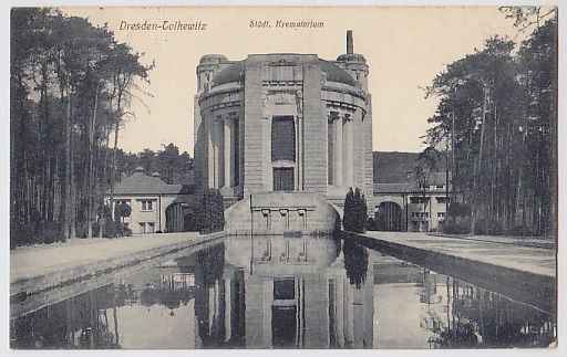 Dresden-Tolkewitz. Städt. Krematorium.