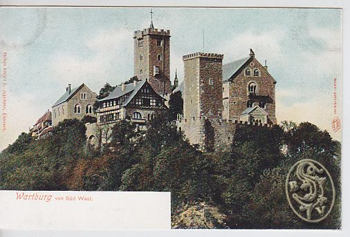 Wartburg von Süd West.