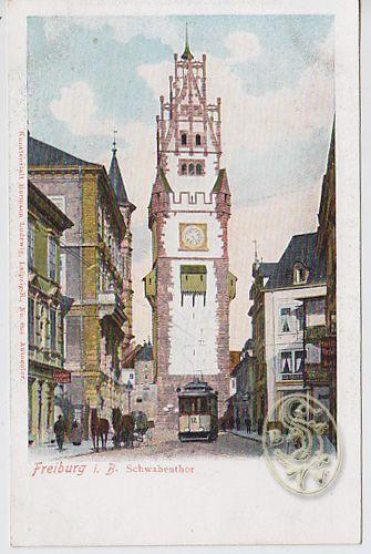 Freiburg i. B. Schwabenthor.