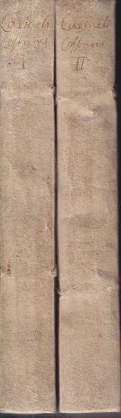 CARMELI, [Michelangelo]. Storia di Vari costumi sacri e profani. Dagli Antichi fino a noi pervenuti.